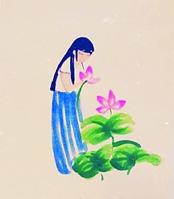 05          版) 莲主题手绘书签