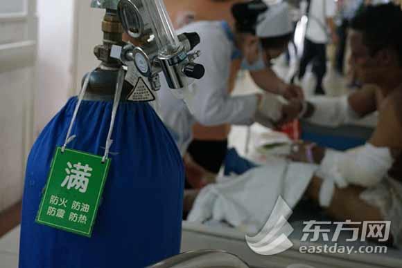 部分伤者将会向上海长海和瑞金医院分流|医院