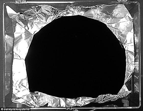 最黑的黑_艺术家创造世界最黑的黑色