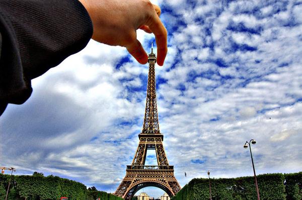 你是否希望自己在世界游览胜地留下的影像可以不落俗套?图片