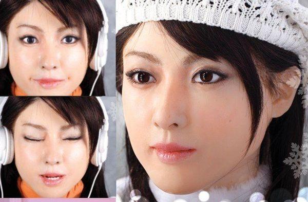完美女机器人aiko