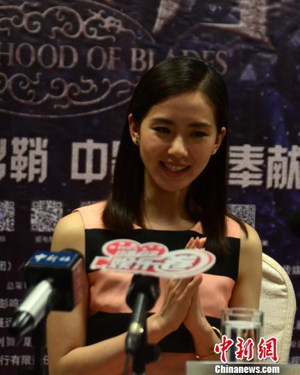 演员刘诗诗:在《绣春刀》里看到了不一样的我(图)图片