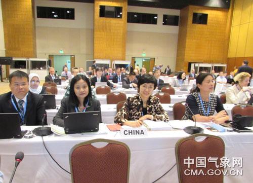 矫梅燕率团出席WMO基本系统委员会2014年特