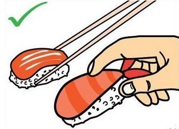 教你几招寿司的正确吃法|寿司|筷子