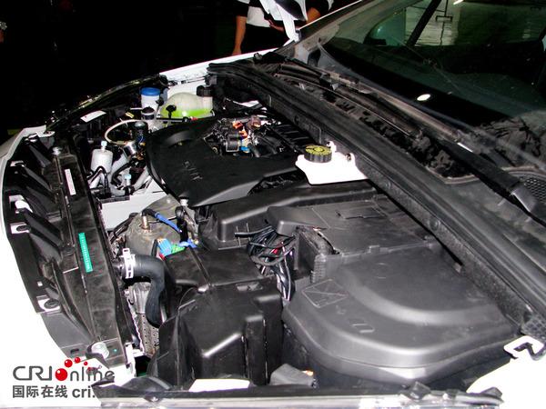 氢能源汽车内部