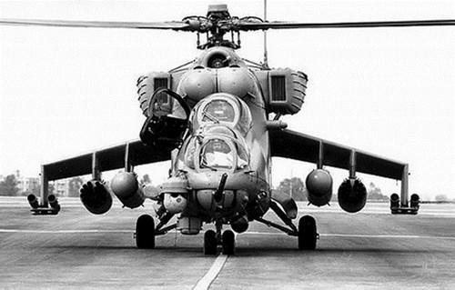 俄罗斯米-35武装直升机