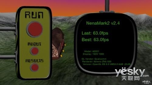 小米4 NenaMark 2跑分结果