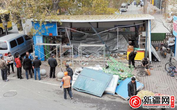 乌鲁木齐市南昌路蔬菜直销点一夜遭两劫
