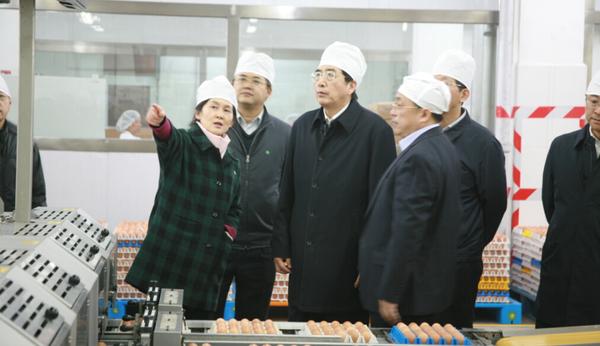 北京市委书记郭 金龙参观调研健力公司