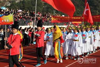 温州翔宇中学办创意运动会 入场仪式堪比奥运会图片