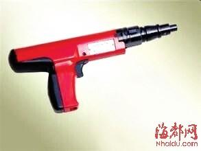 改装射钉枪卖五人被公诉|射钉枪|级别罪里钢筋图纸枪支图片