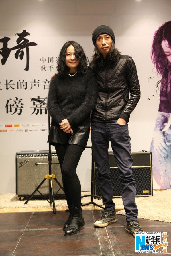 谢天笑重磅助阵罗琦北京个唱 撼世合作掀摇滚风暴