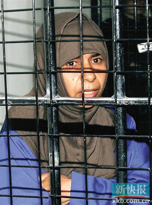 约旦以牙还牙处决女囚图片