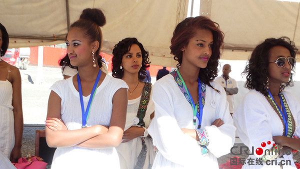 迷人的埃塞俄比亚美女高清组图