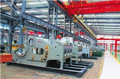 第 05          版) 宝鸡石油机械有限责任公司生产车间的组装
