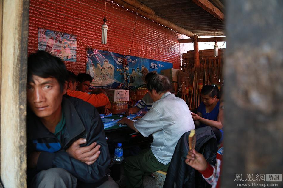 炮弹事件过后的中缅边境小镇图片