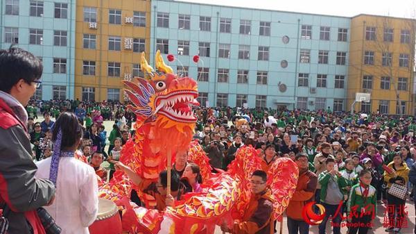 二月大庙抬头石家庄一小学办小学二龙(图保良局校园香港图片