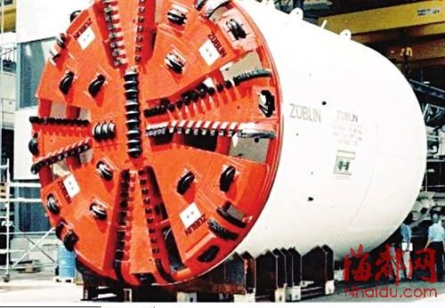盾构机刀盘(资料图)图片