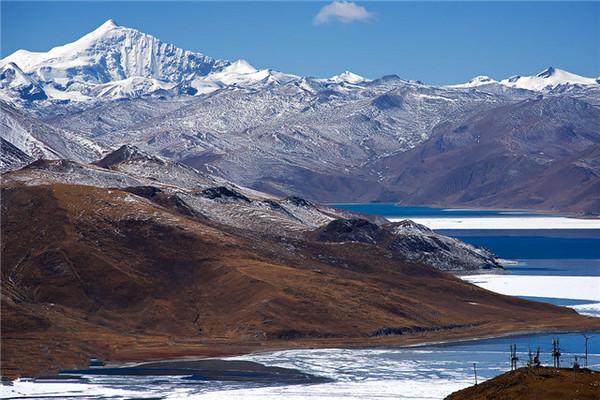 【艺术摄影】羊卓雍错位于西藏山南地区的浪卡子县,拉萨西南约70公里