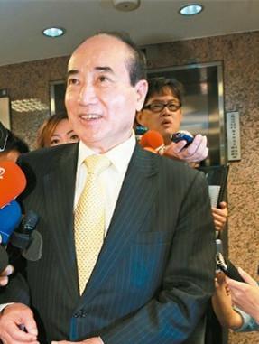 """""""立法院长""""王金平。图自台湾《联合报》"""
