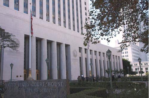 赵世兰案将于18日在洛杉矶联邦法院开审。(美国《星岛日报》/黄松 摄)