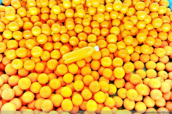 自家种植的橙子,任你自己挑选,十分可口.