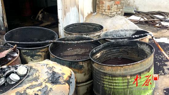 废铁油桶利用图