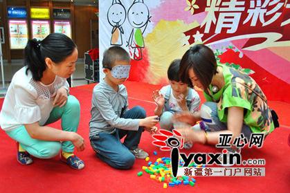 六一儿童节小朋友齐聚新疆科技馆共享科普大餐