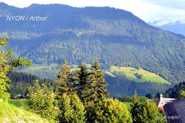 【瑞法穿越·nyon】尼翁漫步,站在高处望风景