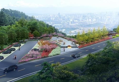 森林公园经宦溪至鼓岭景区道路将进行整修(效果图)