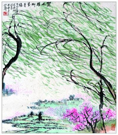5267,柳丝万千舞春风(原创) - 春风化雨 - 诗人-春风化雨的博客