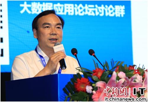 图为中国互联网协会副秘书长 石现升
