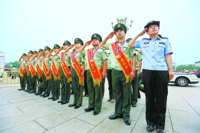 中国武警十大忠诚卫士图片