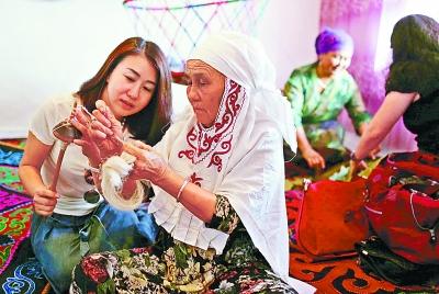 新疆博乐市的手艺传承