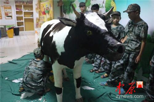 留守儿童夏令营进行时 点点梦想城 郑州 孩子_凤凰资讯