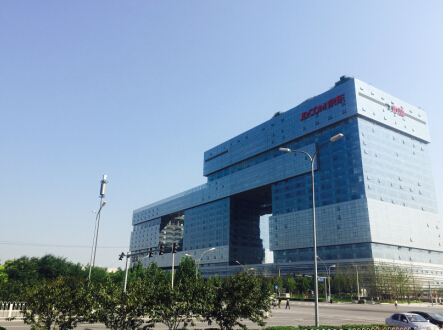 图:京东新总部大楼全貌