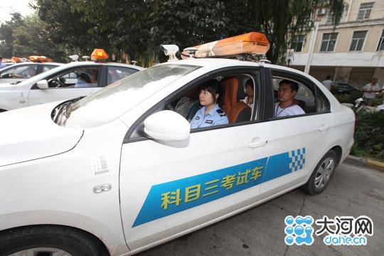 漯河科目三考试车辆增至18辆