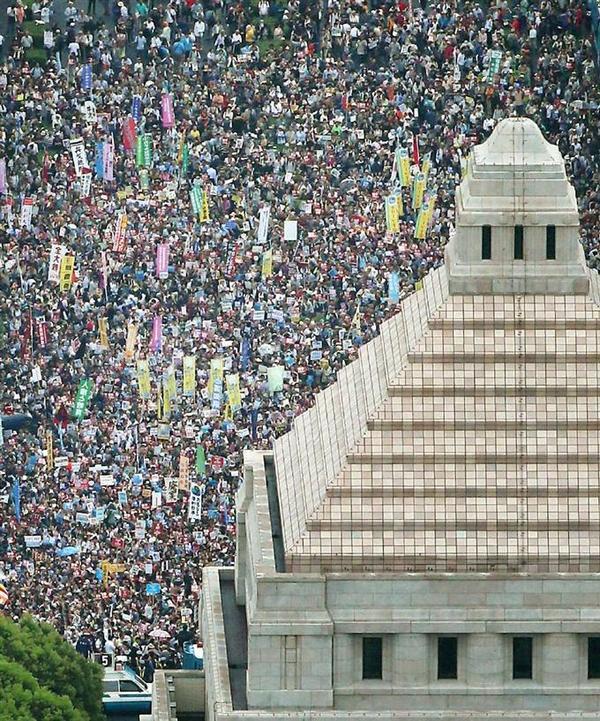 日本百万人反安倍集会意味着什么?--徐静波的博客--凤凰网博客