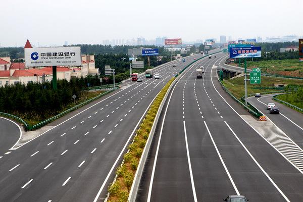 安徽首条八车道高速公路亮相 工程历时三年(图)