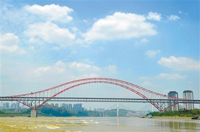 """跨度最大的拱桥.2012年获""""全国百年百项杰出土木工程"""".-来投"""