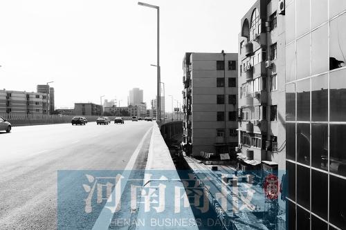 陇海高架由于没装声屏障,旁边居民深受噪声困扰
