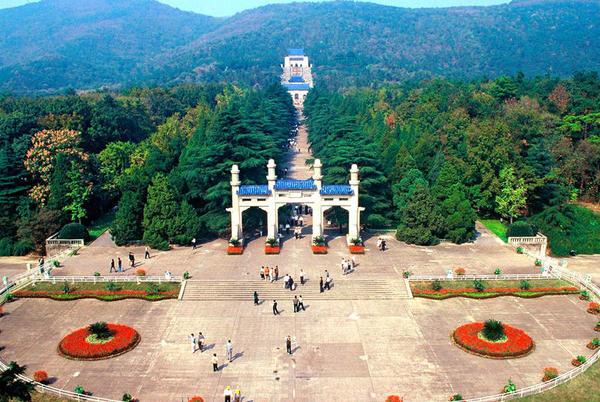 南京市钟山风景名胜区-中山陵园风景区