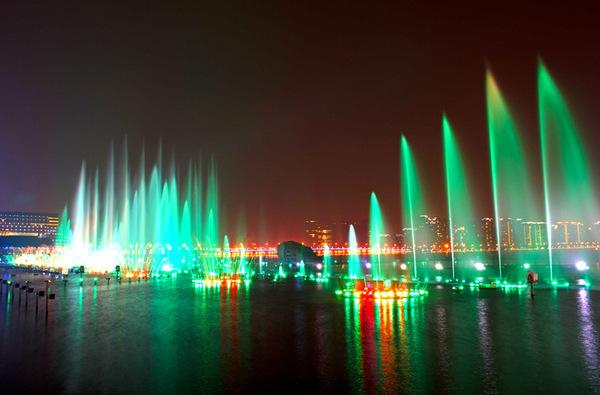 苏州市金鸡湖景区