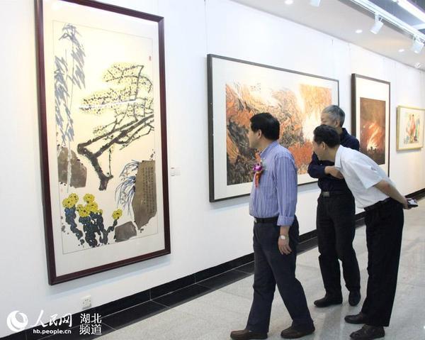 湖北省美术院建院50周年系列学术展览开展图片