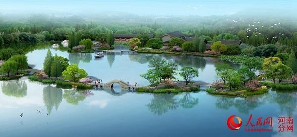 开封朱仙镇将建生态旅游示范区 占地5300亩投资120亿