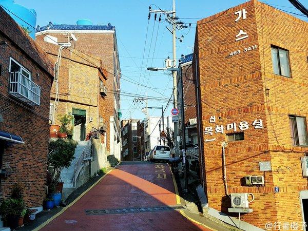 釜山街头风景.