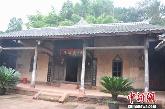 赵一曼故居位于四川宜宾县白花镇一曼村白杨嘴(小地名),是一座坐北朝南的旧式川南民宅。 赵雪松 摄