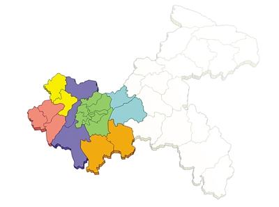 大都市区地图出炉 城市发展新区分五大板块