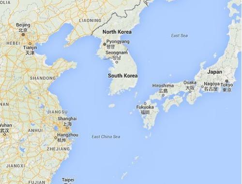 谷歌地图未标注首尔 首尔市政府要求改正(图