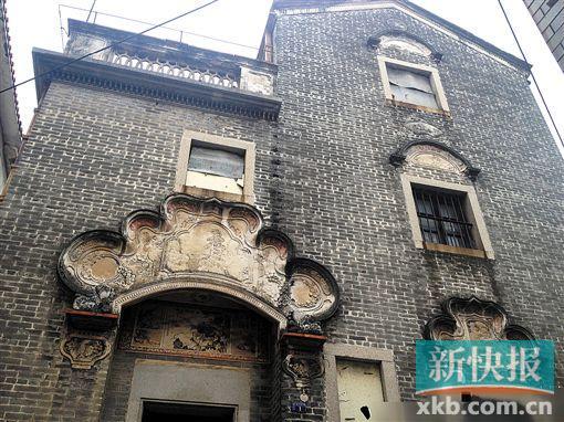 ■佛山顺德区乐从腾冲村旧居。